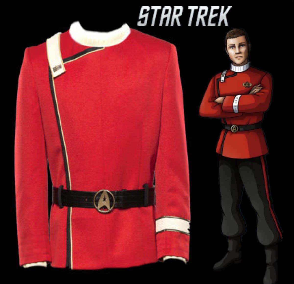 Star Trek III-V Halloween Jacket Cosplay Costume Bomber Casual Suit Uniform