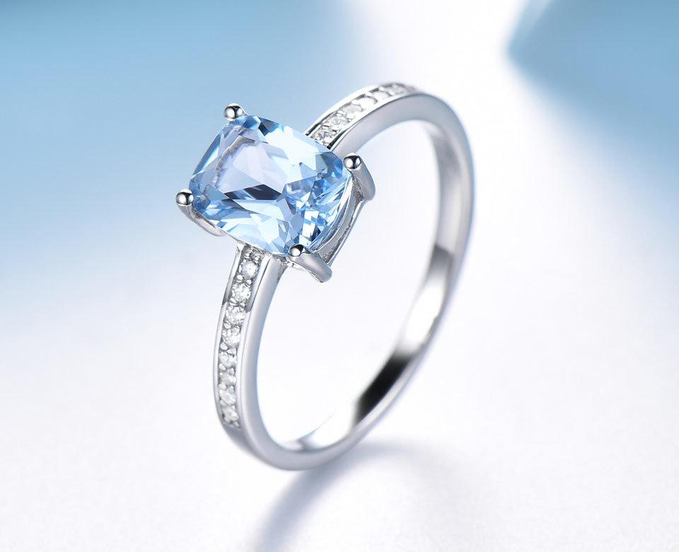 UMCHO Sky blue topaz silver sterling jewelry sets for women EUJ054B-1-pc (9)