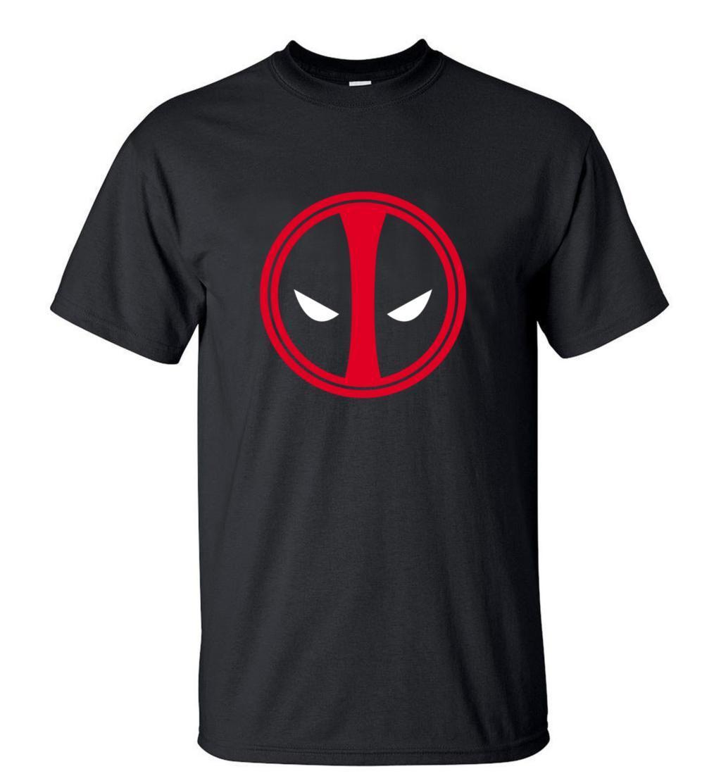 hot sale 2019Summer X-men Deadpool T-Shirt 100% Cotton Comfortable TShirtsS-3XL Cartoon Top Tees For Fans CamisetaMasculino