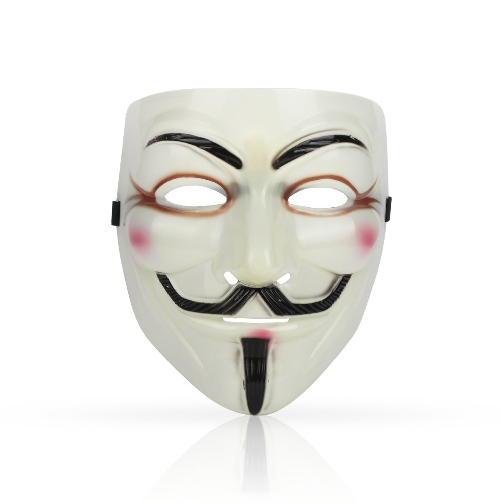 Anonymous Hacker Vendetta Guy Face Mask Halloween Fancy Party Cosplay Cool Party