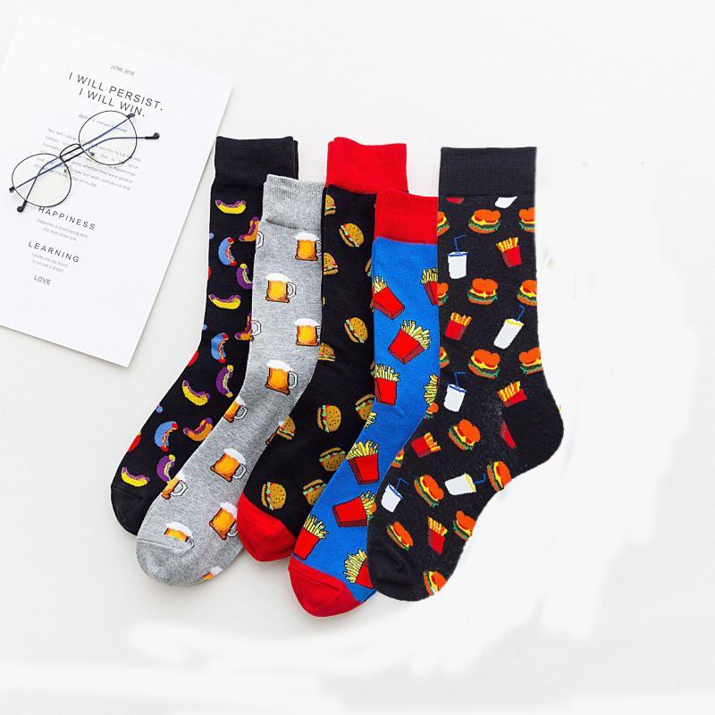 Mens Spectacular Deer Running Socks Sports Leisure Fashion and Interesting Socks
