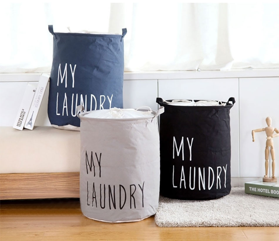 2MICCK Home collapsible laundry basket child toy storage laundry bag for dirty clothes hamper organizer Large Laundry bucket