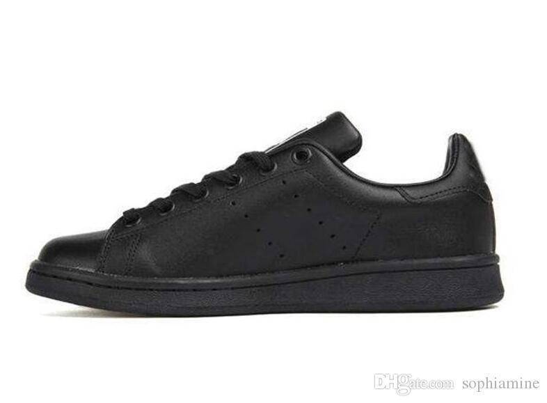 Nuovo commercio all'ingrosso 2019 Stan Shoes Fashion Smith Marca Top Quality Mens Womens Nuove scarpe casual Sneakers sportive in pelle Scarpe Taglia Eur 36-45
