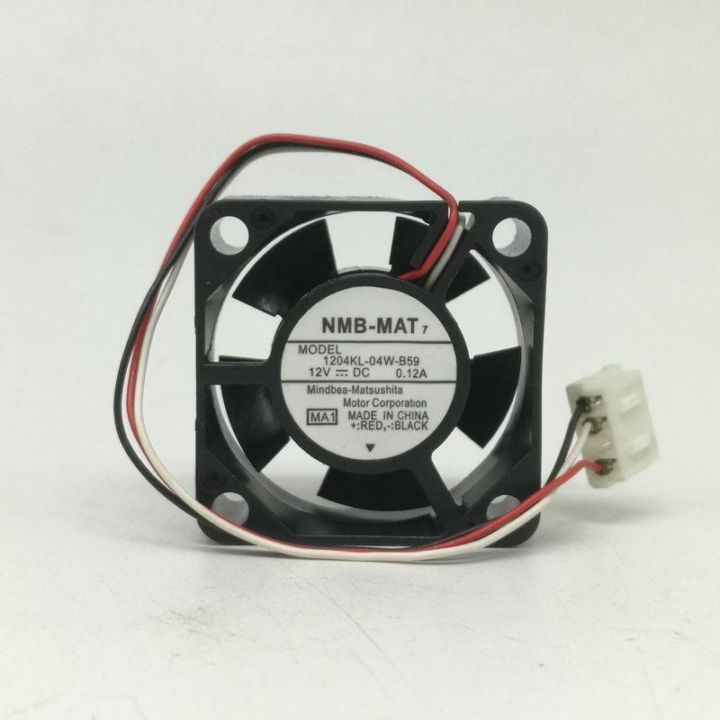 Genuine authentic NMB 1204KL-04W-B40 3010 12V 0.10A 3cm Yaskawa inverter fan