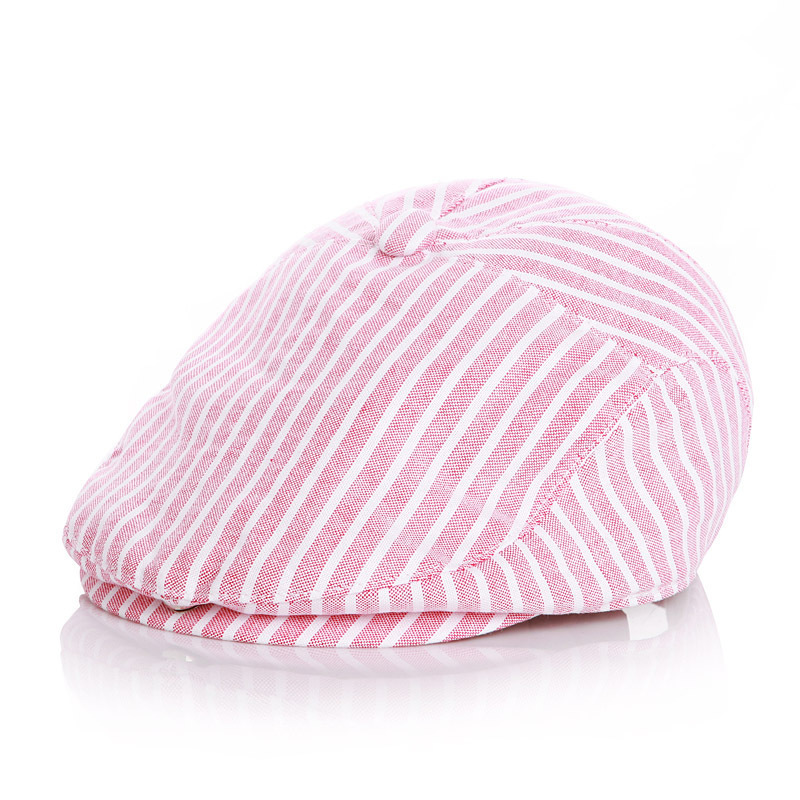 Cute !! Children Stripe Classic Style Fashion Cap Toddler Summer Baby Hat Boy Caps For Child Girl Berets Kids Hats C19041001