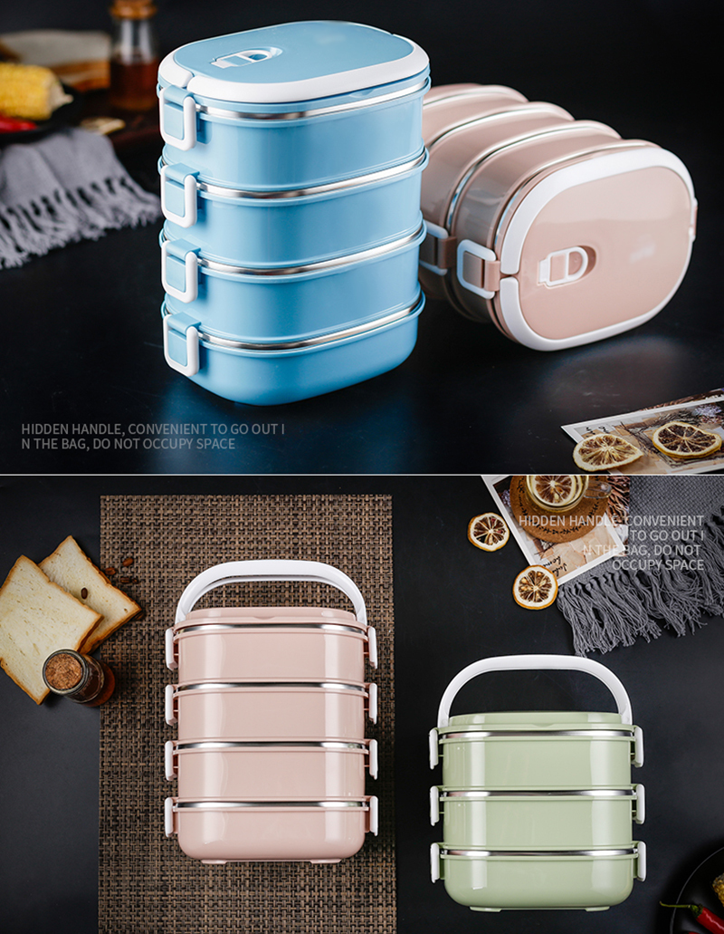 304 stainless steel insulated lunch box39