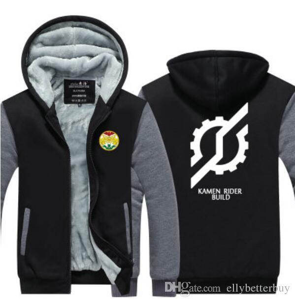 Anime KAMEN RIDER MASKED RIDER Zio épaissir Sweatshirts à Capuche Sweat à Capuche Veste Tops