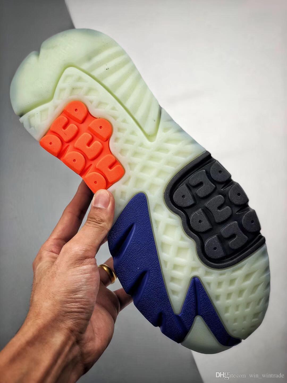 Con Box Uomo Nite Jogger Boost Scarpe da corsa Moda Retro CG7088 3M Scarpe Popcorn Designer Sport Casual Walking Outdoor Athletic Sneakers