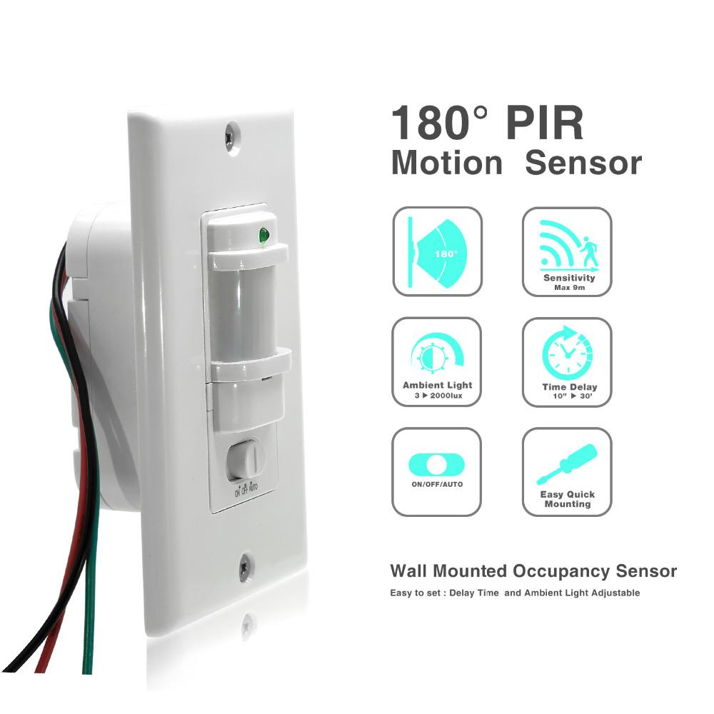12V DC Infrared PIR Motion Sensor Bewegungsmelder Schalter für LED Strip