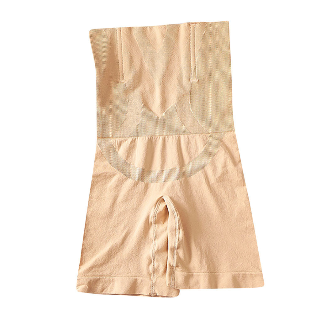 Seamless Slim Shapewear Tummy Control Panties Women Slimming Waist Trainer Postpartum High Waist Abdomen Body Shaper Underwear