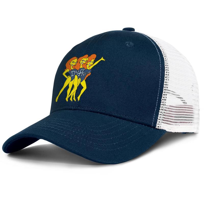Simple Beer Mug Boy Washed Denim Cotton Baseball Cap Sport Outdoor Adjustable Hats