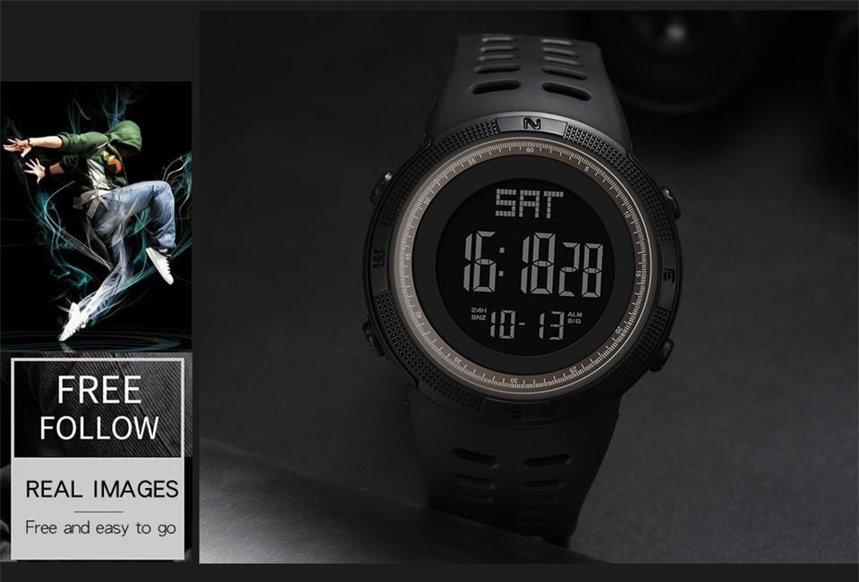 Sports Watch Men Digital Electronic Wrist Watch Waterproof LED Fitness Outdoor Watch For Running Chronograph Wristwatch Relojes (9)