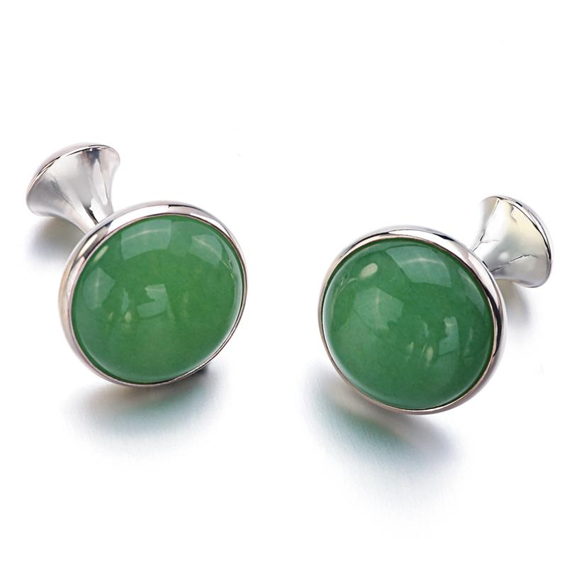 Green Stone Cufflinks (5)