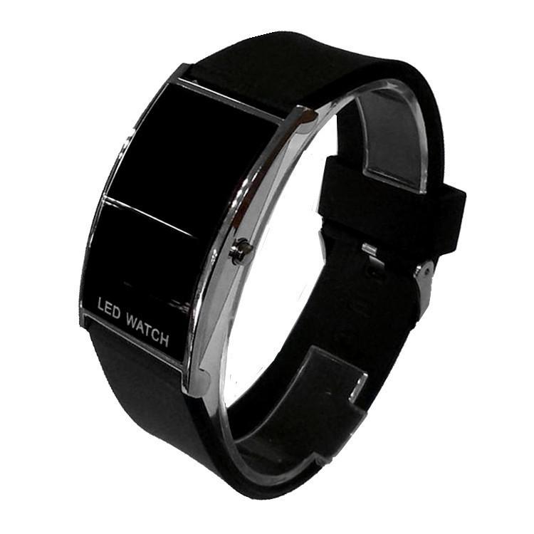 Bridge Shape Led Wrist Watch Silica Gel Bring Jelly Wrist Watch Leisure Time Male Ma'am Wrist Watch