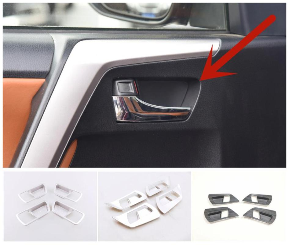 ABS Chrome Side Door Handle Cover Trim 8pcs For Nissan Versa Note 2014-2017