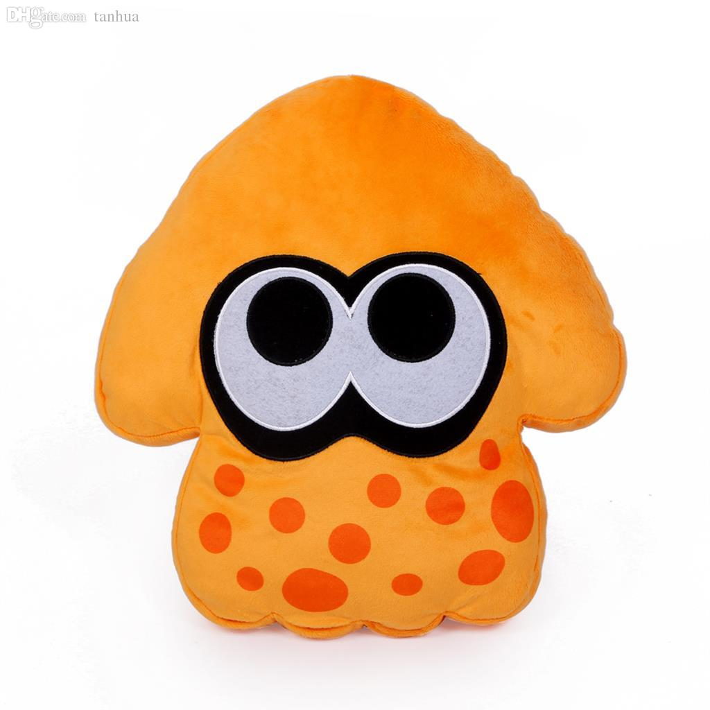 2PCS Anime Splatoon Plush Toys Splatoon Squid Soft Doll Stuffed Animal Pillow