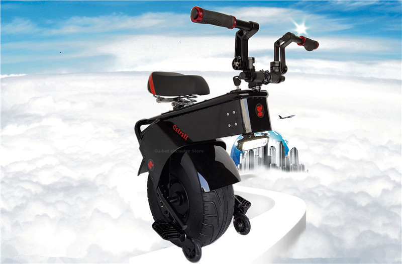 Adult Electric Motorcycle Scooter One Wheel Electric Scooters 18 Inch Fat Tires Portable Electric Unicycle One 1000W 60V 90KM (4)