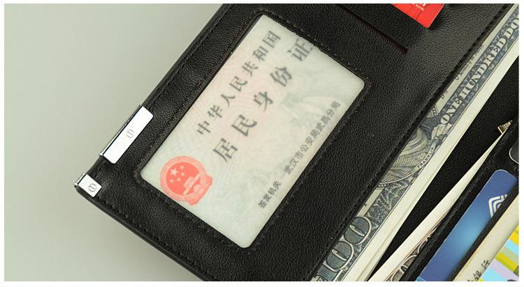 wallet men card holder