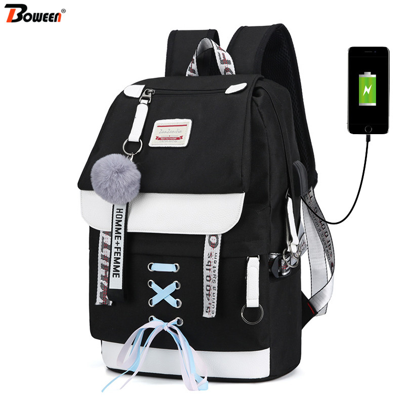 Color : E, Size : Big Waterproof School Backpack Girl Middle School Bag Cute Bag Backpack Female Diamond ZJ-School bag Backpack /&/& Five Colors Optional