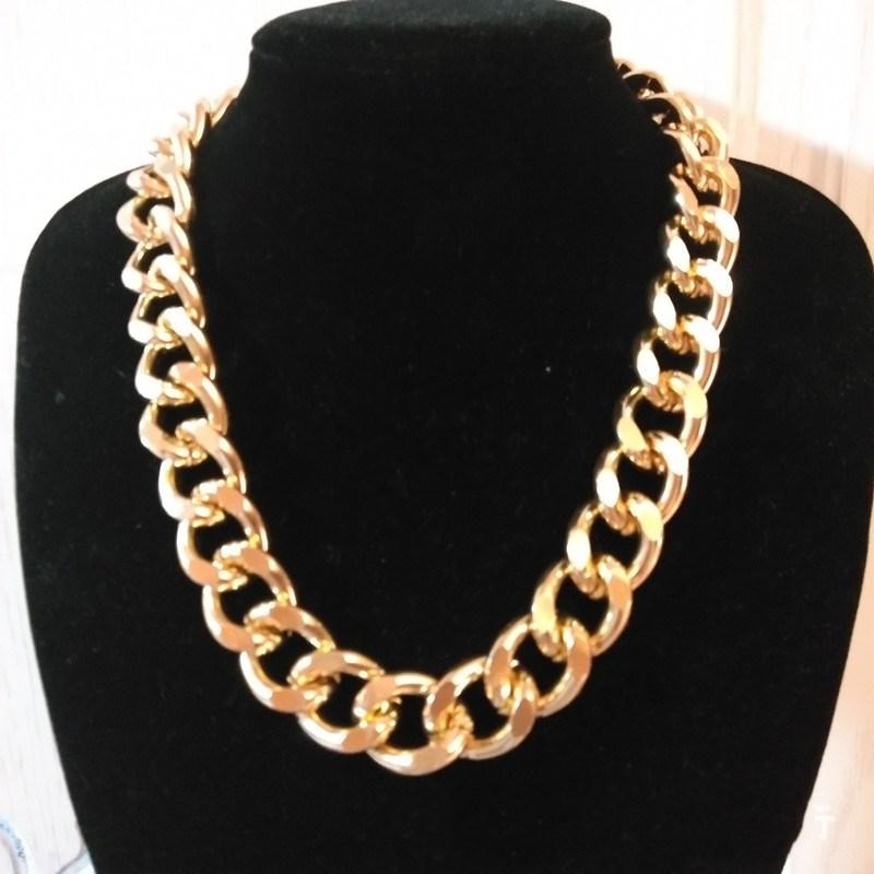 Fashion Femmes Déclaration Chunky Chaîne Résine Graine Perle Choker Bib collier bijoux