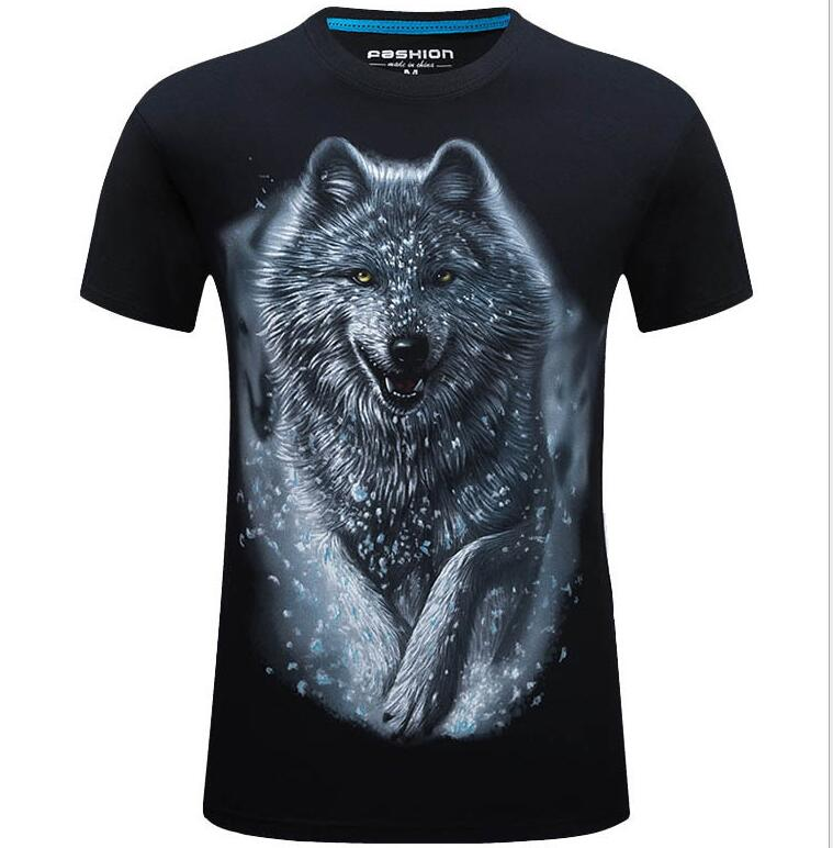 Wolf DSQUARED2 BEST wolf model Men`s Tshirt white one last few peaces
