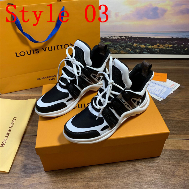 2019 A1 Luxury Fashion Sorrento Sneaker Mens Design Shoes Fabric Stretch Jersey Slip On Sneaker Lady Two Tone Rubber Micro Sole Casual Shoes From