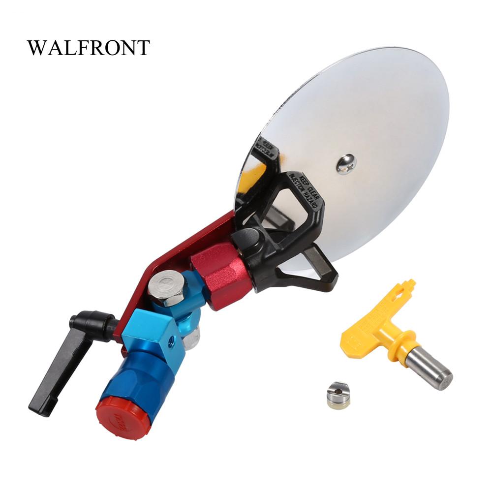Best Promotion 1 St/ück 50,8 cm Airless Sprayer Farbpistole Verl/ängerung Stange 50 cm mit Spritzschutz D/üse Sitz