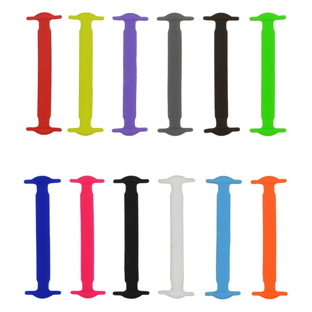 New Fashion Unisex Flexible Elastic Shoelace Wash-free No Knotting Shoe Laces New Fashion Laces