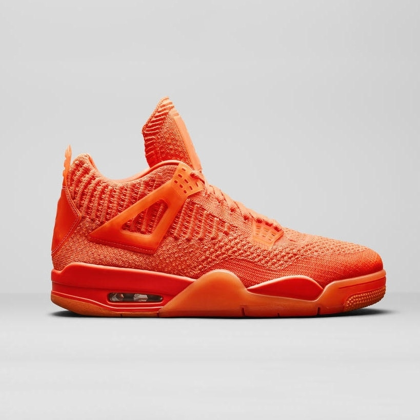 2019 Fly Knit University Red 4 Iv 4s Volt Scarpe da pallacanestro da uomo Hyper Royal Total Orange Sneakers sportive uomo 7-13