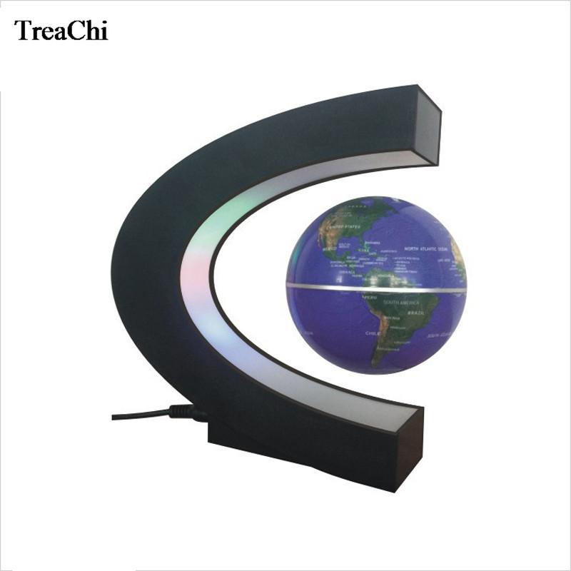 Originality Rotating Globe Display Shelf Domestic Store Desk Decoration Magnetic Levitating Floating Promotion Gift Stand