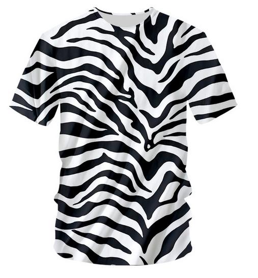 Drôle Enfants T-shirt Tee tshirt-Zebra Stripe
