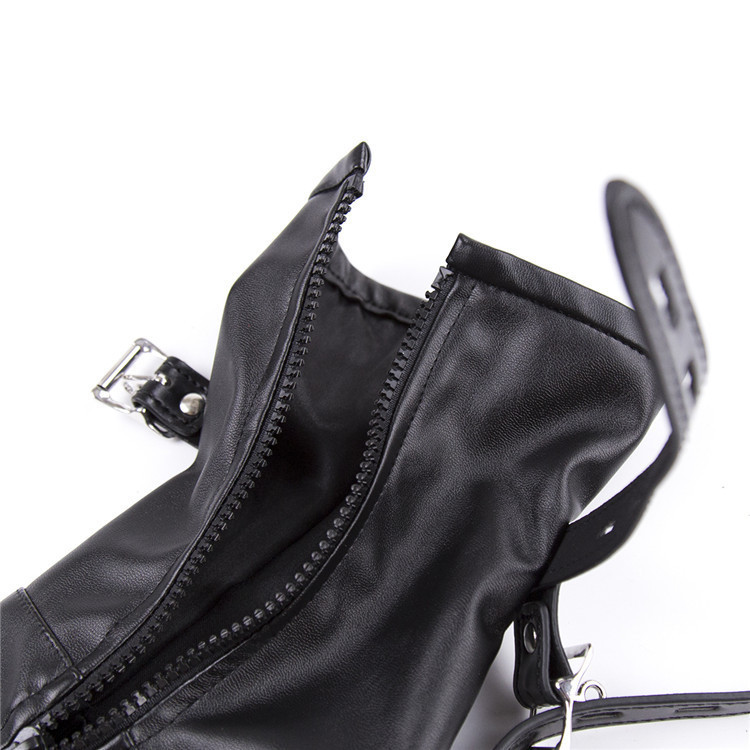 Dog Slave Pu Leather Boots Fetish Restraint Toys Legs And Hand s Adult Gloves Bdsm Bondage Sex Toys For Couple J190525