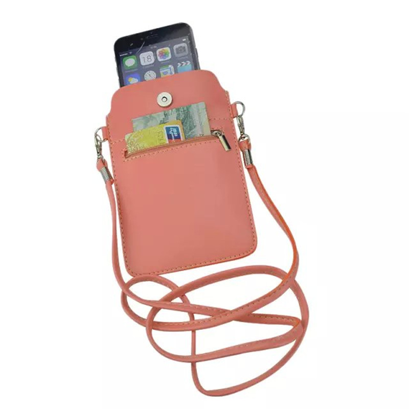 Universal Phone Purse Bag Pouch Mini Crossbody Bags for Women Messenger Bags Small Female Shoulder Handbags Clutch