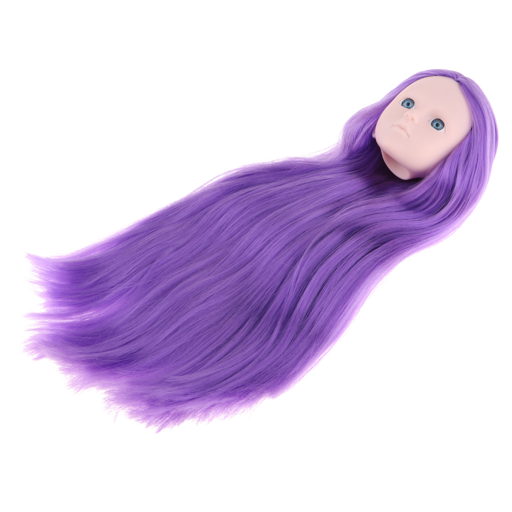 MagiDeal 1/4 Female Bjd Doll Head Sculpt No Make up Ball-Jointed Doll DIY Body Parts Accessory