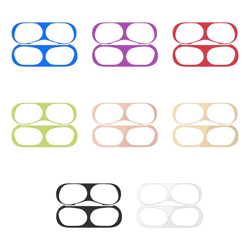 para Apple AirPods Pegatinas de Polvo en el Interior de la Cubierta Pel/ícula de Pegatinas de Auriculares Bluetooth inal/ámbricos Pel/ícula Protectora para Etiquetas Adhesivas para Apple Airpods