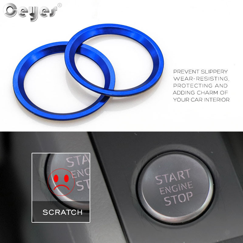 Start Engine Button Ring for AUDI (18)