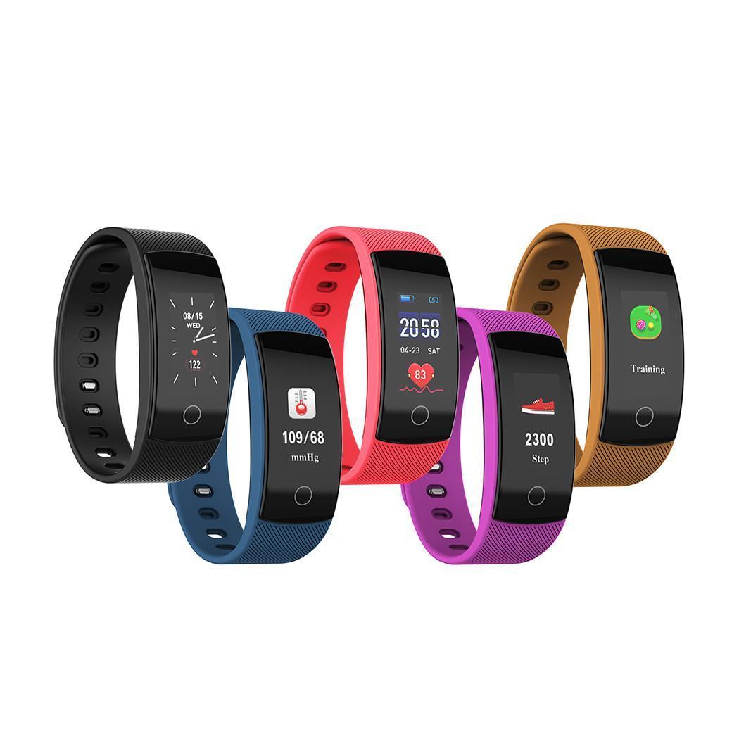 Nova moda smart watch contador de passos eletrônico sports fitness rastreador pulseira de relógio