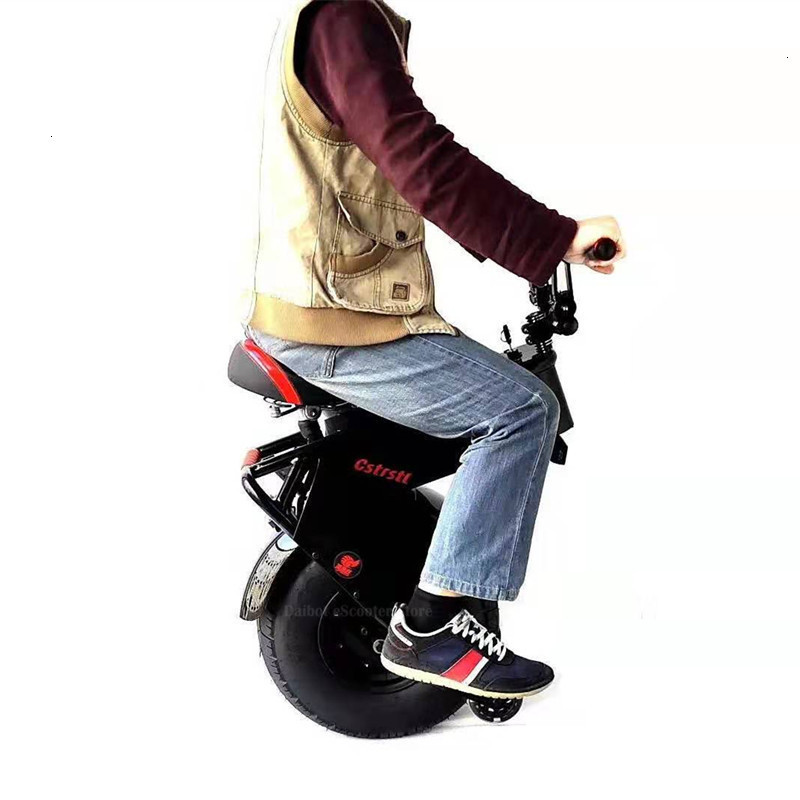 Adult Electric Motorcycle Scooter One Wheel Electric Scooters 18 Inch Fat Tires Portable Electric Unicycle One 1000W 60V 90KM (25)