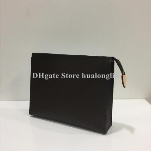 Woman Toilet pouch Cosmetic cases women handbag purse fashion flower checkers