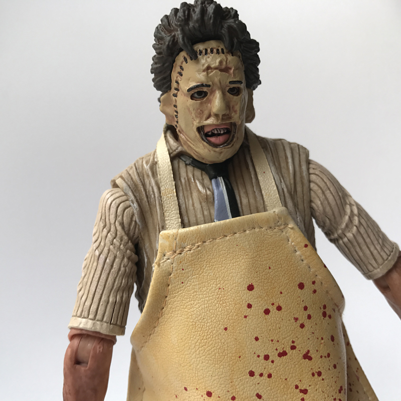 18cm NECA 40th Anniversary Ultimate Leatherface Classic Terror Movie The Texas Chainsaw Massacre Action Figure In 3D Boxed (4)
