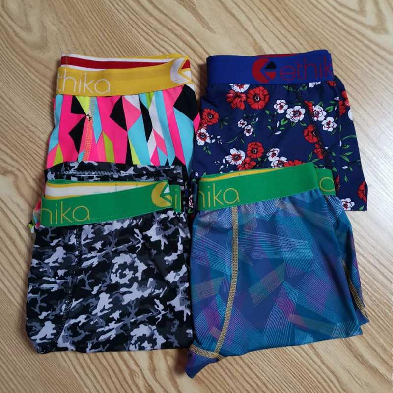 Mens Boxer Briefs Underpants Leopard Pattern Underwear for Men Adult