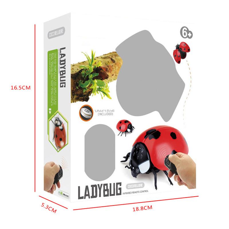Control remoto Moscas Mariquita Abeja Simulación Insectos Juguete Niños Niños Día de los inocentes YJS Dropship