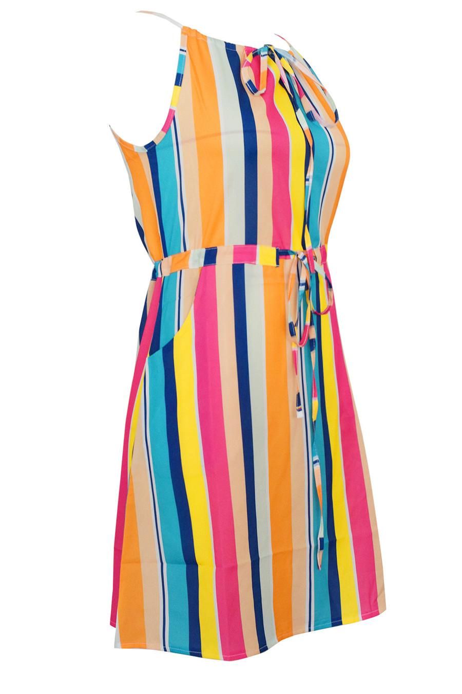 Gladiolus Chiffon Women Summer Dress Spaghetti Strap Floral Print Pocket Sexy Bohemian Beach Dress 2019 Short Ladies Dresses (25)