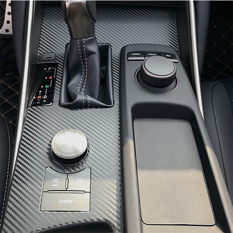 Car Inner Air Vent Outlet Frame For Lexus IS 250 300 350 2013-2016 Real Carbon