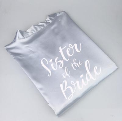 grey sister bride