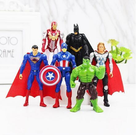 17cm Incredible Hulk Action Figur Comic Marvel Avengers Hot Reel Toys Sammlung