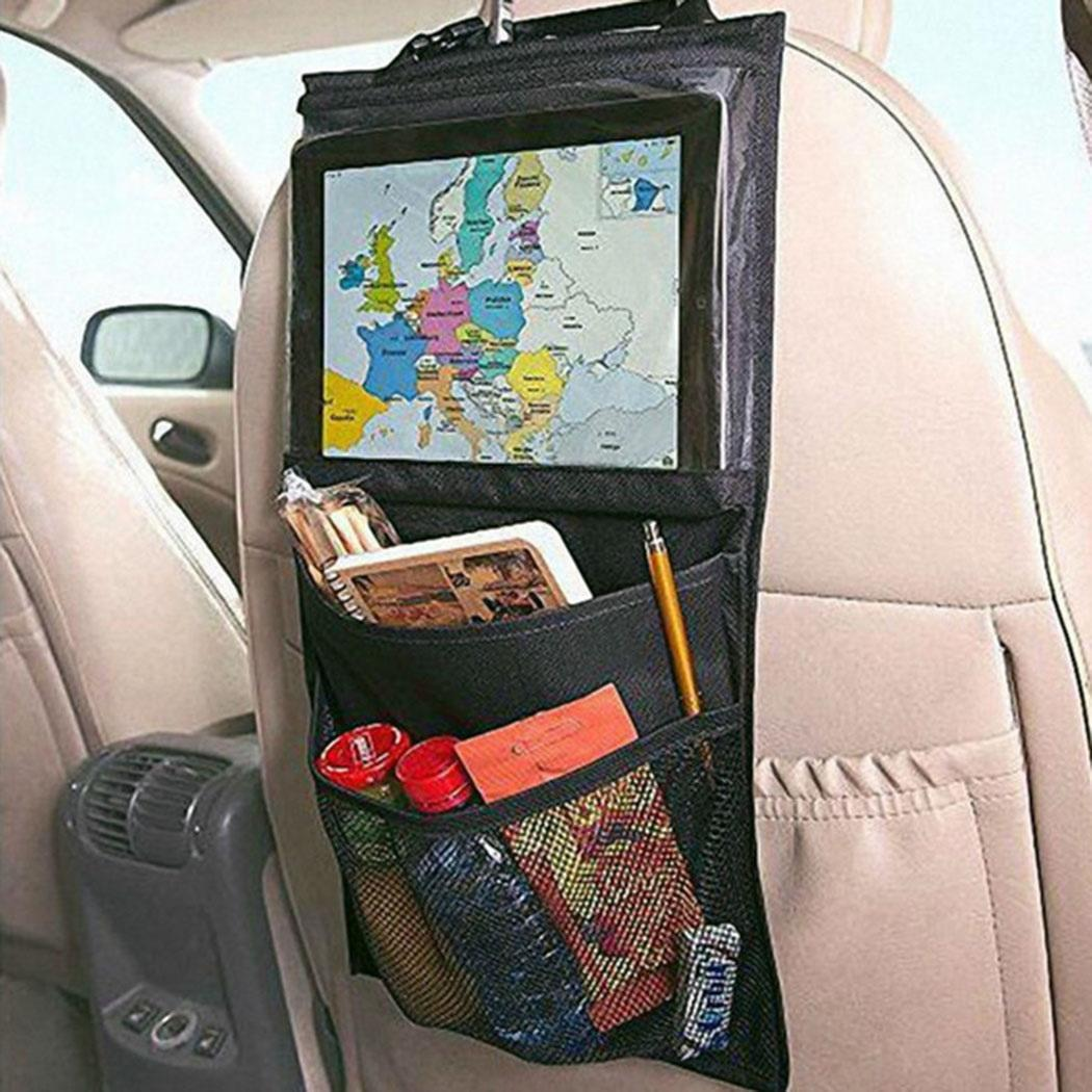 Nouveau mode général sacs de rangement de siège de voiture chaise dossier suspendu titulaire du sac de mode sacs de rangement de siège de voiture