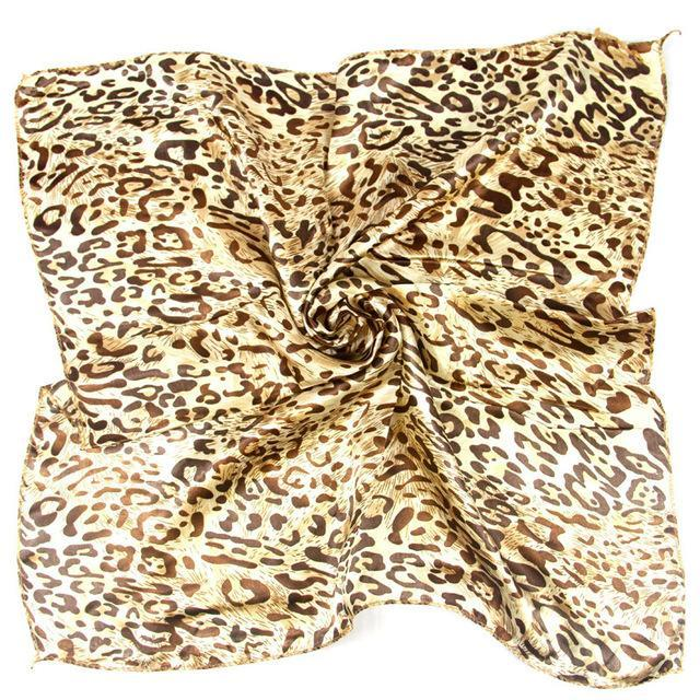 New Design 50*50CM Ladies Scarves Four Seasons Available Women's Professional Small Squares Silk Scarf headband kerchief 360 styles