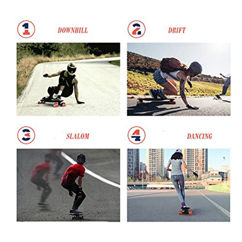 Daibot 36V Electric Scooter Four Wheel Electric Scooters 600W Brushless Hub motor 30KMH Electric Skateboard Scooter For Adult (2)
