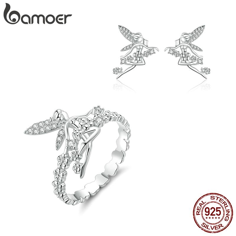 Bamoer S925 Argent Sterling Collier fantastique océan pendentif Pour femmes Bijoux